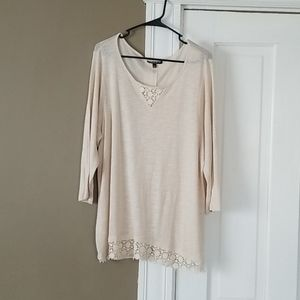 Cream Cotton Shirt